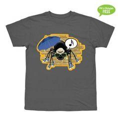 Lille Peter Edderkop  T-shirt i str. 2-6 år