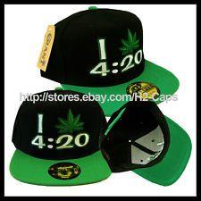 7749ae75683 420 POT LEAF Marijuana Dope Snapback Hat I LOVE MARIJUANA 4 20 Snap Back   13.99 Buy It Now Free shipping