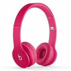 Amazon.com : Beats Solo HD On-Ear Headphone (Drenched in Pink) : Beats By Dre : Electronics