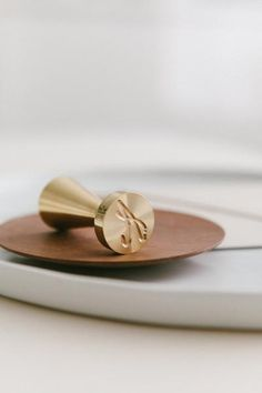 Calligraphy Monogram Wax Stamp | Wax Stamps | Quill London