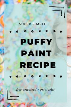 Puffy Paint Recipe from Reading to Discover Learning The Alphabet, Alphabet Activities, Fun Activities For Kids, Fun Crafts For Kids, Sensory Activities, Infant Activities, Art For Kids, Kid Art, Sensory Play