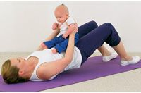 Exercising with baby! Pregnancy Books, Get Healthy, Kids Rugs, Exercise, Activities, My Style, Hot, Sweet, Cover