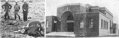 Town Hall and Library at Glen Eden opened on Coronation Day, May 1937.