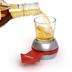 Spin The Shot Group Hen Stag Party Do Drinking Game Shot Glass Shooters Bomb