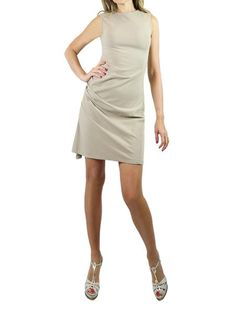 ON57 Beige Sleeveless Dress. S, M, L  $295  http://www.boutiqueon57.com/products/on-57-new-york-beige-sleeveless-dress-s-m-l
