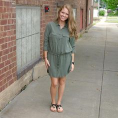 "JUNE & BEYOND BOUTIQUE on Instagram: "">> Fall must have << #shirtdress #militarydress #trendingnow #fallfashion #falltrends #417 #shopjuneandbeyond #juneandbeyond"""