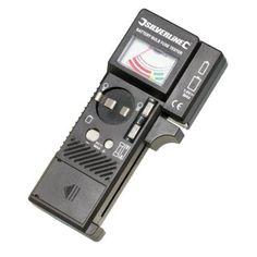 Silverline 633909 Tester per Batterie/Lampadine/Fusibili, 1.5 V - 9 V