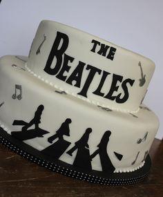 Beatles Wedding Cake by Isa Herzog, via Flickr