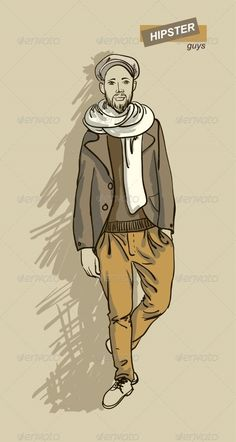 Hipster Man in Fashion