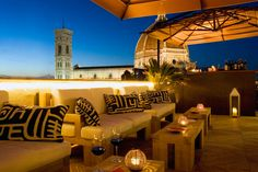 Grand Hotel Cavour in Florence Hotels In Florence Italy, Florence City, Florence Cathedral, Italian Patio, Palette, Cheap Hotels, Rooftop Bar, Grand Hotel, Nice