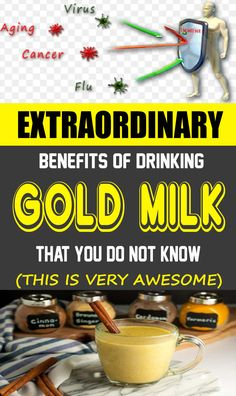 The Powerful Benefits Of Drinking Golden Milk (+ Recipe) - The Health Resolution Natural Cough Remedies, Cold Remedies, Herbal Remedies, Health Remedies, Diarrhea Remedies, Wrinkle Remedies, Bloating Remedies, Psoriasis Remedies, Arthritis Remedies