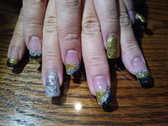 New Years nails  call Kristal at 916-670-0010 for an appointment in Sacramento