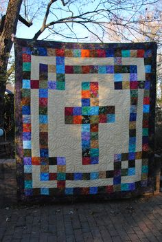 Love this quilt! I will have to make one some day.