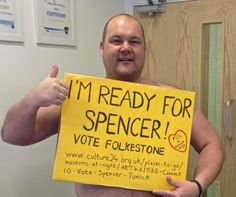 Abbeywell Veterinary Clinic is 'Ready for Spencer'  #votefolkestone  http://www.culture24.org.uk//places-to-go/museums-at-night/ART461565-Connect10-Vote-Spencer-Tunick