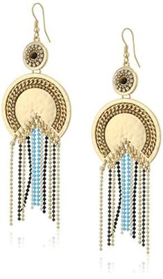 Danielle Nicole Moon Goddess Drop Earrings by Danielle Nicole -- Awesome products selected by Anna Churchill