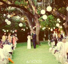 decoración altar bodas