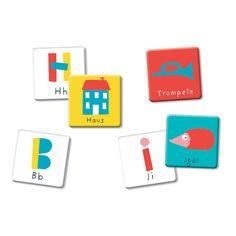 Tolles Buchstaben Memo als perfektes Geschenk zum Schulstart. Mit diesem tollen Spiel kann man wunderbar die Buchstaben lernen. Das perfekte Einschulungsgeschenk für die Schultüte.