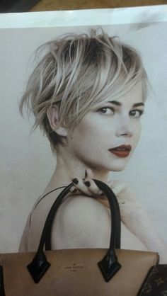 Best, sexy, short hair, wish my hair would do this