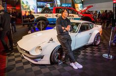 """""""Sung Kang at SEMA 2015. Read the whole story in this month's issue…"""