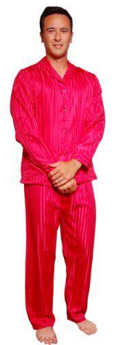 Mens Red Satin Bathrobe | Mens Pajamas | Pinterest | Burgundy ...