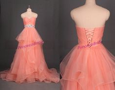 2016 coral tulle prom dresses with rhinestones,affordable chic wedding gowns in stock,new sweetheart women dress for holiday party.