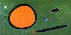 Bird's Flight in Moonlight, Joan Miro 1967