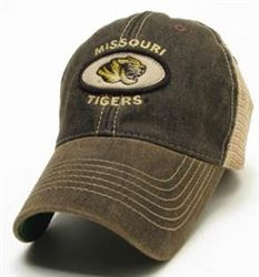 Missouri Tigers Legacy Old Favorite Trucker Hat Our Mizzou trucker hat from Legacy  Athletic is constructed of durable mesh with an adjustable snap on the ... 4dc542eac0e