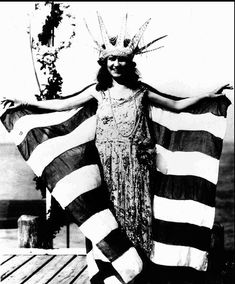 "Margaret Gorman Cahill, 15, won the first Miss America contest in Atlantic City, N.J. in 1921. Her formal title was queen of Atlantic City's ""Inter-City Beauty Pageant,"" which later became the Miss America Pageant."