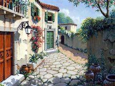 """Robert Pejman ~  """"Italian Village"""""""