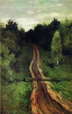 Road - Isaac Levitan