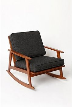 Really liking the modern take on rocking chairs... practical for limited seating areas???