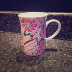 Coffee mug Vera Bradley Pinwheel Pink coffee mug Vera Bradley Other