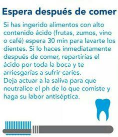¡Cuida tus #dientes! Consejos para un cepillado óptimo.