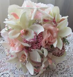 Destination Wedding Bouquets Beach Bridal by flowerfilledweddings