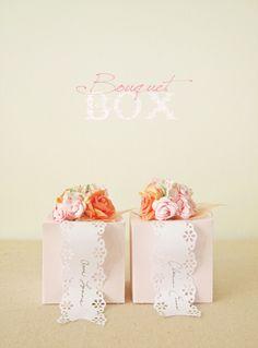 Bouquet Box...pretty