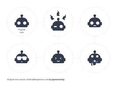 Image result for robot icon Robot Icon, Robot Art, Snoopy, Logos, Image, Fictional Characters, Design, Logo