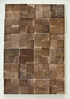 Projection Polished Wood Tiles - contemporary - wood flooring - nashville - Beckwith Interiors