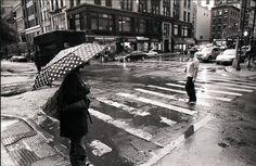 Polka Dot Umbrella! Two of my favorite things!