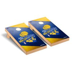 Golden State Warriors Victory Tailgate NBA Regulation Cornhole Game Set Back-To-Back NBA Champions Version Golden State Warriors 2018, 2018 Nba Champions, Cornhole Game Sets, Thing 1, Arizona Cardinals, Finals, The Incredibles, Games, Graphics