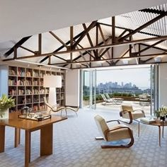 Manhattan Rooftop Shed Office