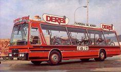 Pegaso 5023 CL Derbi motorcycles bus