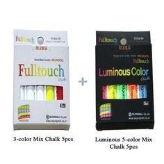 Hagoromo Fulltouch 3-color Mix Chalk 5pcs &  Luminous (5 Colors mix) 5 pcs #SejongMall