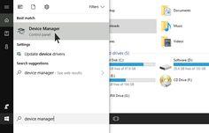 Cara Update Driver VGA via Device Manager Windows 10