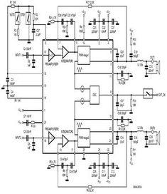 class-d power audio amplifier circuit based TDA8929T