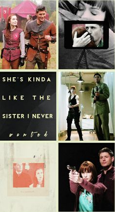 Dean and Charlie  @Reagan   This is us boo. The little sister I never wanted   Always here for you
