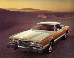 1976 Ford Thunderbird Creme and Gold Luxury Group