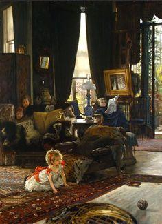Escondite (1877) James Tissot