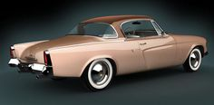 """""""The 1953 Studebaker Starliner Regal Coupe is in my opinion the most significant and important car design in the post-war era. It was significantly lower in height than any other car being produced in America in that period of time.  It's timeless in its appeal.  It has true European flavor."""" -Patrick Ahearn"""