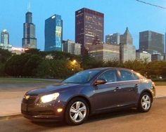 A 2014 Chevy Cruz diesel parked, legally, in Chicago. (Photo by Robert Duffer)