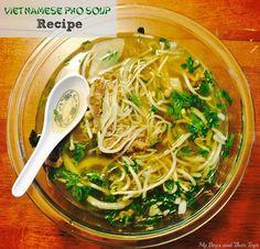 Vietnamese Pho Soup #Recipe